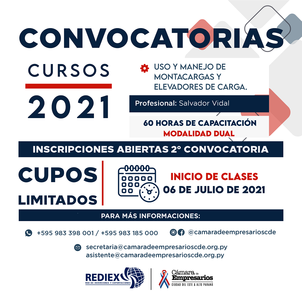 Curso de Uso y Manejo de Montacargas y Elevadores de Carga ¡Gratuito!