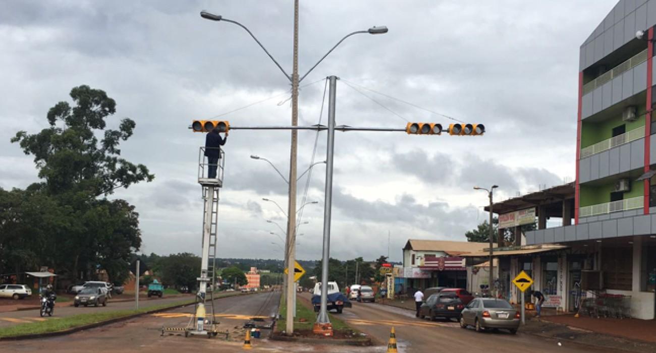 Obras en avenida Perú concluyeron en un 99%