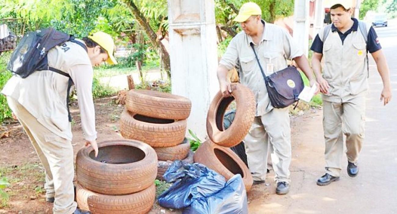 Barrios de CDE y Hernandarias con alto riesgo de proliferación del dengue