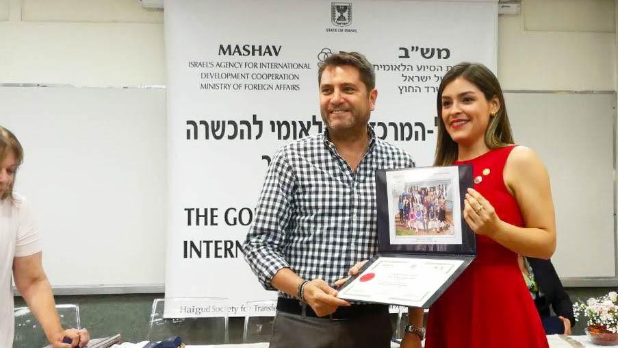 Socia de la Cámara de Empresarios representa a Paraguay en Israel