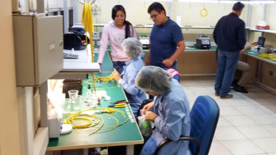 La empresa Citel SRL instala un taller laboratorio de productos ópticos
