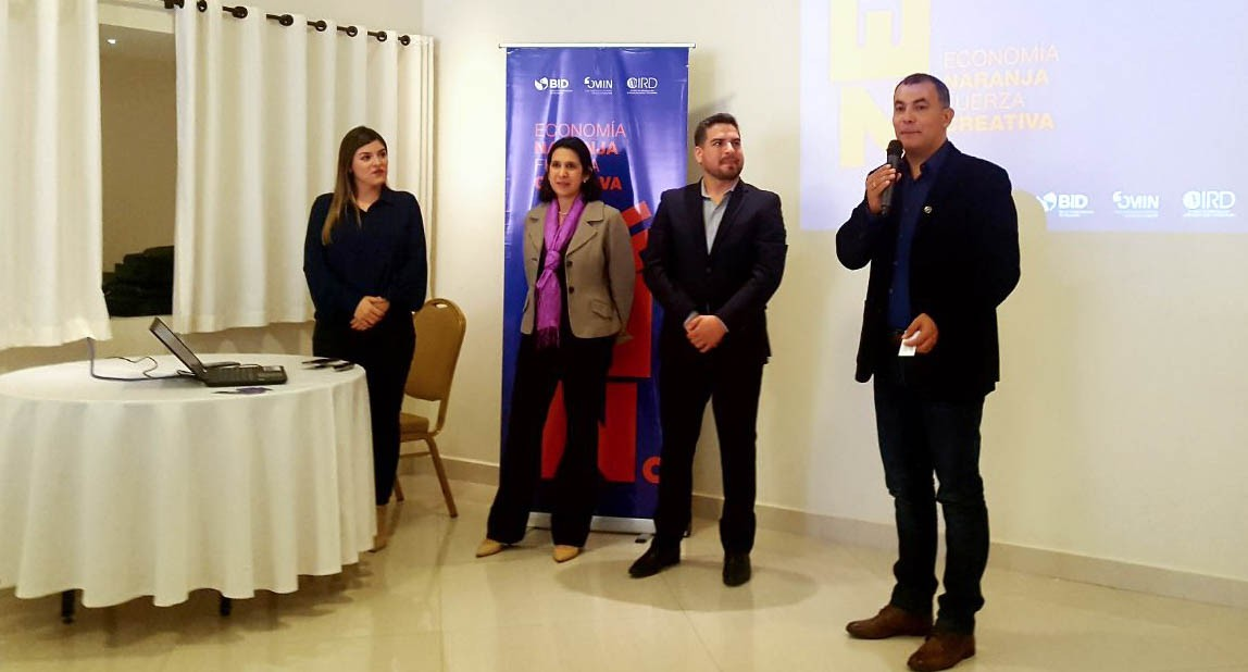 Alto Paraná se suma al Proyecto Economía Naranja, Fuerza Creativa