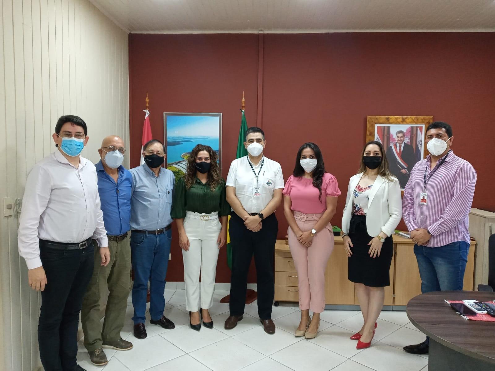 Gremio de empresarios resalta interés de Itaipu en proyectos para el Alto Paraná